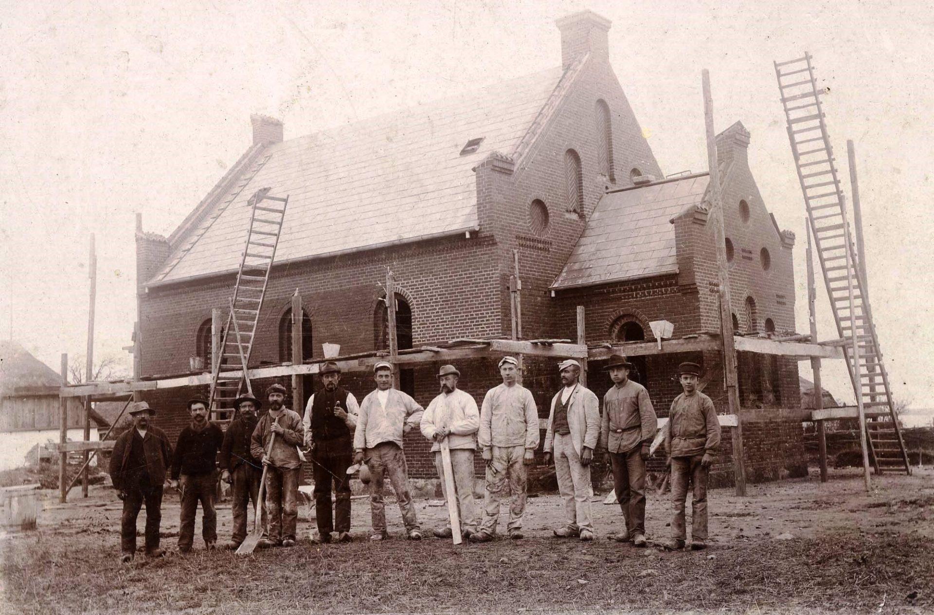 Langø Kirke 1901