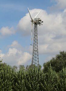 en af de første vindmøller